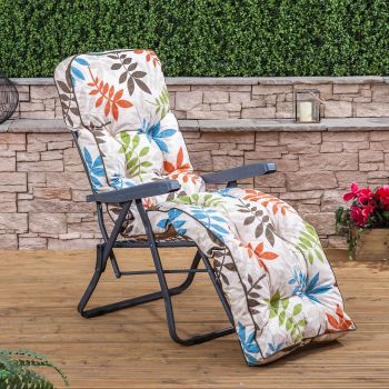 Relaxer Chair - Charcoal Frame with Classic Cushion