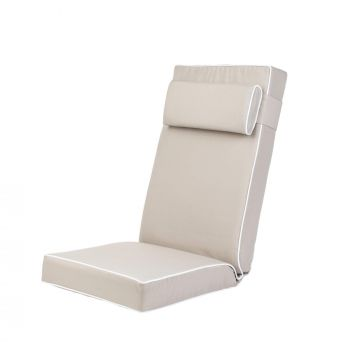 Luxury Recliner Cushion in Taupe