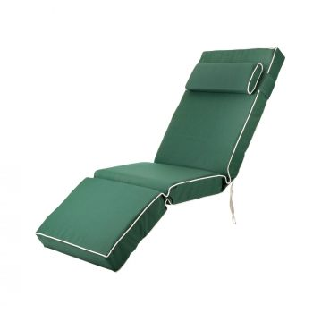 Luxury Relaxer Cushion in Green