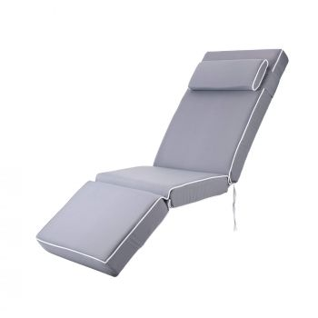 Luxury Relaxer Cushion in Grey