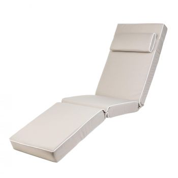 Luxury Sun Lounger Chair Cushion