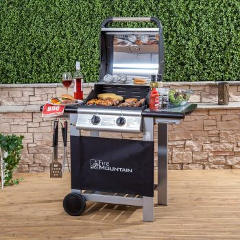 Fire Mountain 2 Burner Everest Gas Barbecue