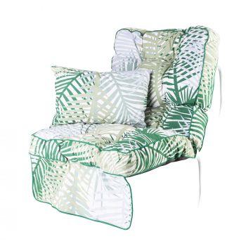 Classic Swing Seat Cushion Bamboo Leaf