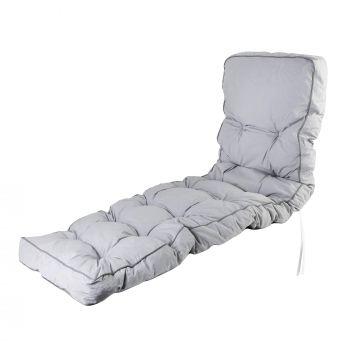 Classic Lounger Cushion Grey
