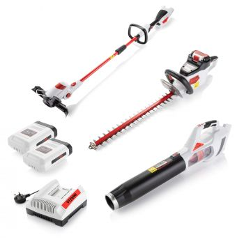 Ultimate Cordless Garden Power Tool Kit inc. Rechargeable Batteries