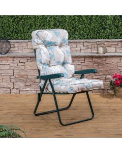 GREEN RECLINER FRANCESCA BEIGR  CUSHION