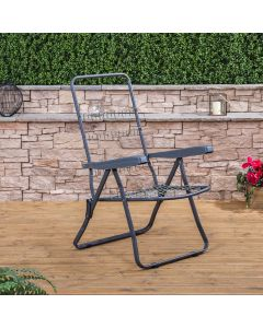 Recliner Chair in Charcoal (Frame Only)