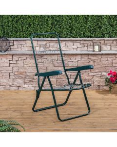Recliner Chair in Green (Frame Only)