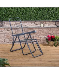 Sun Lounger in Charcoal (Frame Only)
