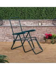 Sun Lounger in Green (Frame Only)