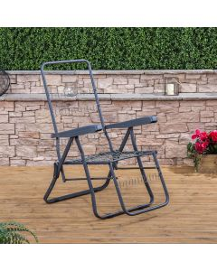 Relaxer Chair in Charcoal (Frame Only)