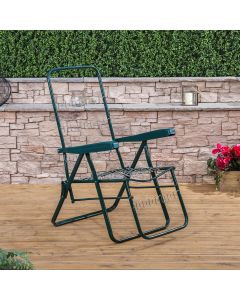 Relaxer Chair in Green (Frame Only)
