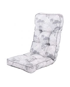 Classic Recliner Cushion in Francesca Grey