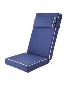 Luxury Recliner Cushion in Navy Blue