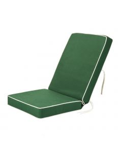 Luxury Garden Dining Chair Cushion in Green