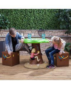 Kids Pirate Garden Furniture Set