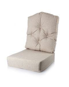 Denver Reading Chair Cushion - Arran Natural
