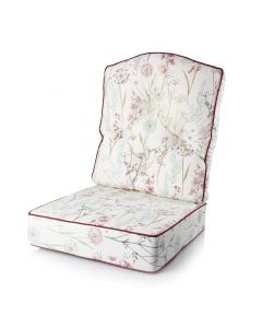 Denver Reading Chair Cushion - Wild Flower Heather