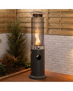 Fire Mountain Spiral Flame Patio Heater