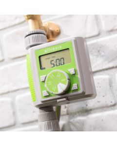 Digital Water Timer with Rain Sensor Delay and Easy to Read LCD Display