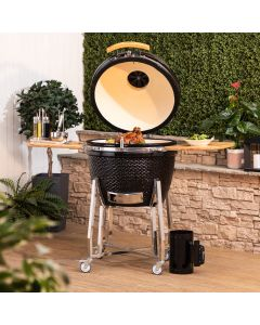 "Fire Mountain 24"" Kamado Ceramic Barbecue"