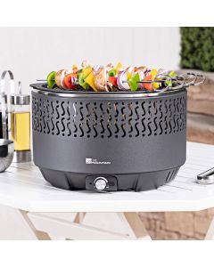 Fire Mountain Portable Fan Assisted Charcoal Barbecue